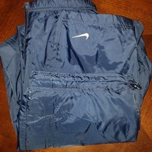 Nike Youth wind/snow pants 14-16 (XL) navy blue
